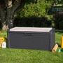 ALDO zahradní úložný box na nářadí a polstry Santorini Plus