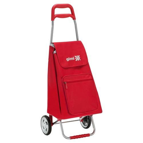 Nákupní taška na kolečkách ARGO červená