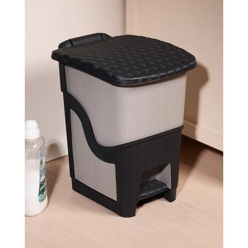 ALDO Odpadkový koš ratan antracit