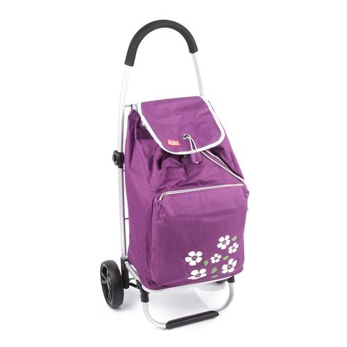 ALDO nákupní taška na kolečkách MALAGA fialová