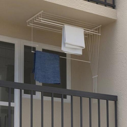 ALDOS Stropní sušák na prádlo Ideal 7 tyčí 120 cm