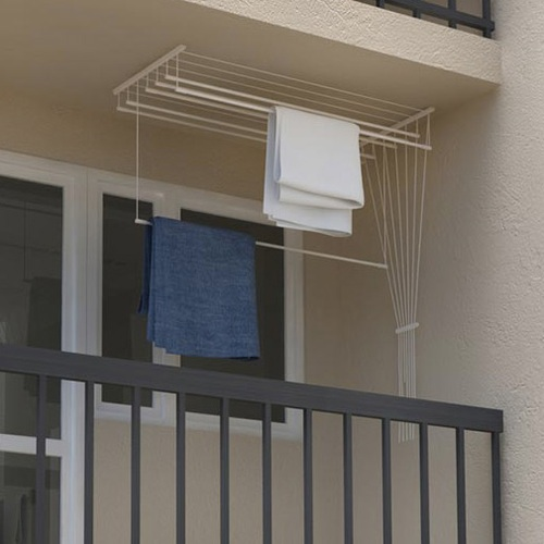 ALDOS Stropní sušák na prádlo Ideal 7 tyčí 170 cm