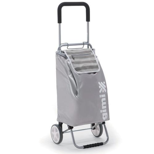 Nákupní taška na kolečkách Flexi šedá