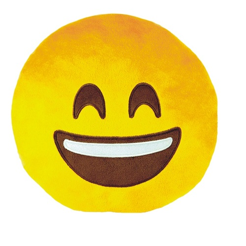 ALDO Polštář smajlík Emoji HAPPY