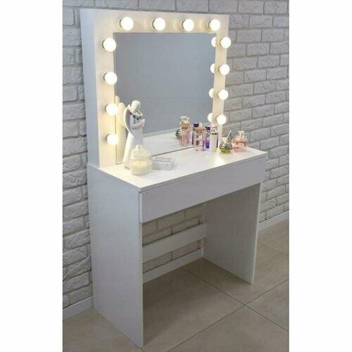 ALDOTRADE Toaletní kosmetický stolek Kamila 80x40x140cm