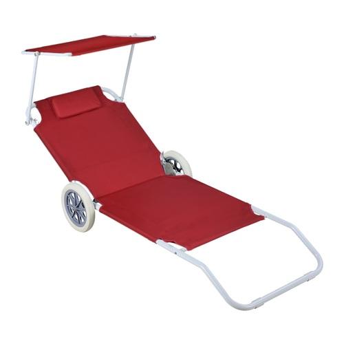 ALDO Plážový vozík - lehátko se stříškou