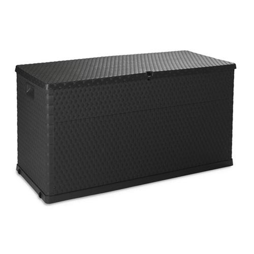 ALDO zahradní box RATTAN 420l tmavě šedý