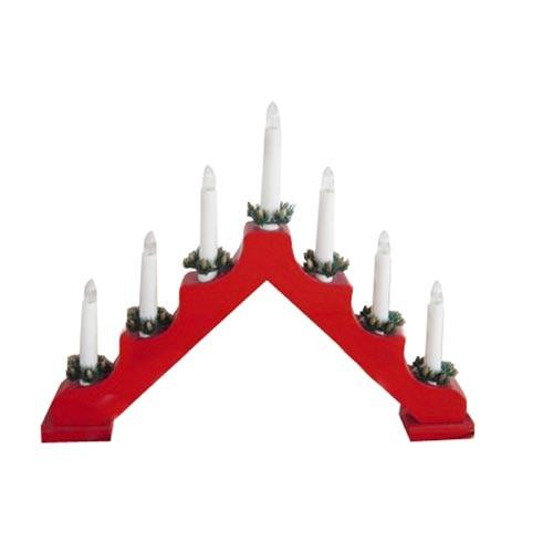 Svícen vánoční elektrický 7 svíček